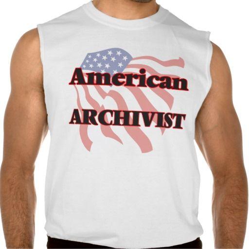 American Archivist Sleeveless T-shirt Tank Tops