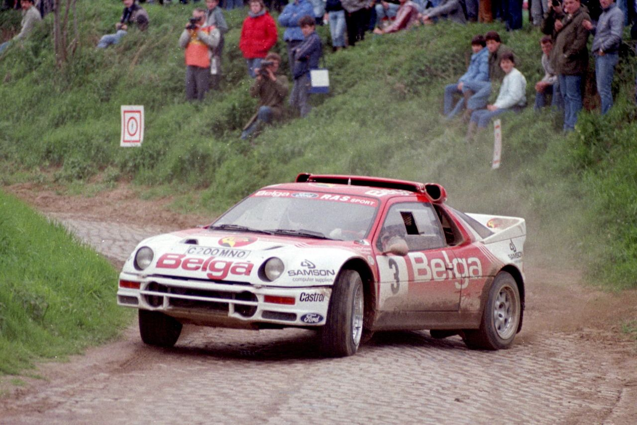 Ford Rs200 Group B Rally Car Carros Pilotos Anos 80