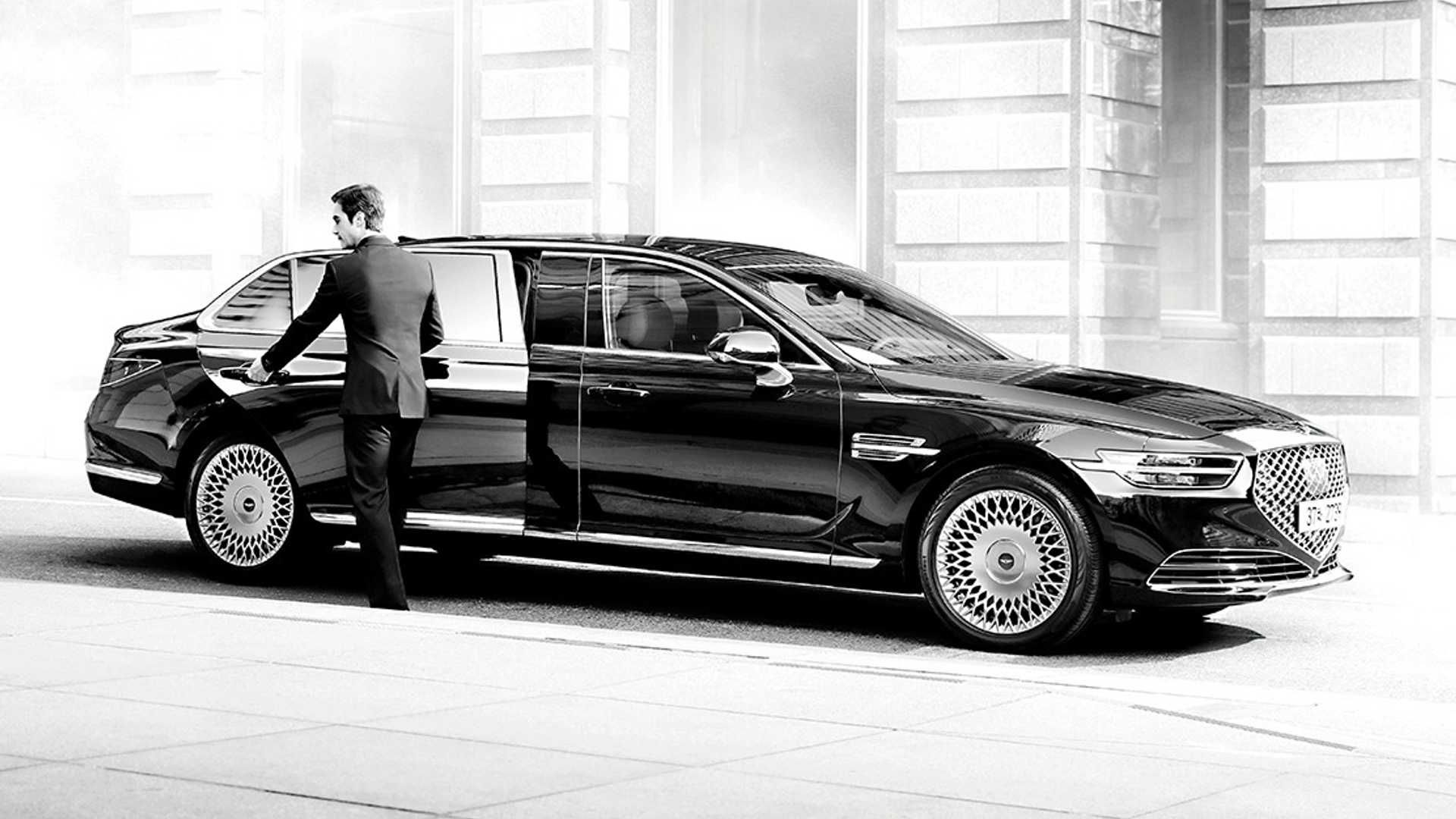 Genesis G90 Limousine Is Korea S Answer To Maybach Limousine Maybach Genesis