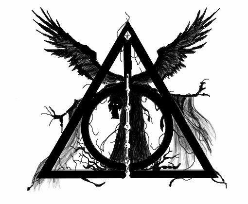 Szkic Harry Potter Insygnja śmierci Szkice Tatuaże