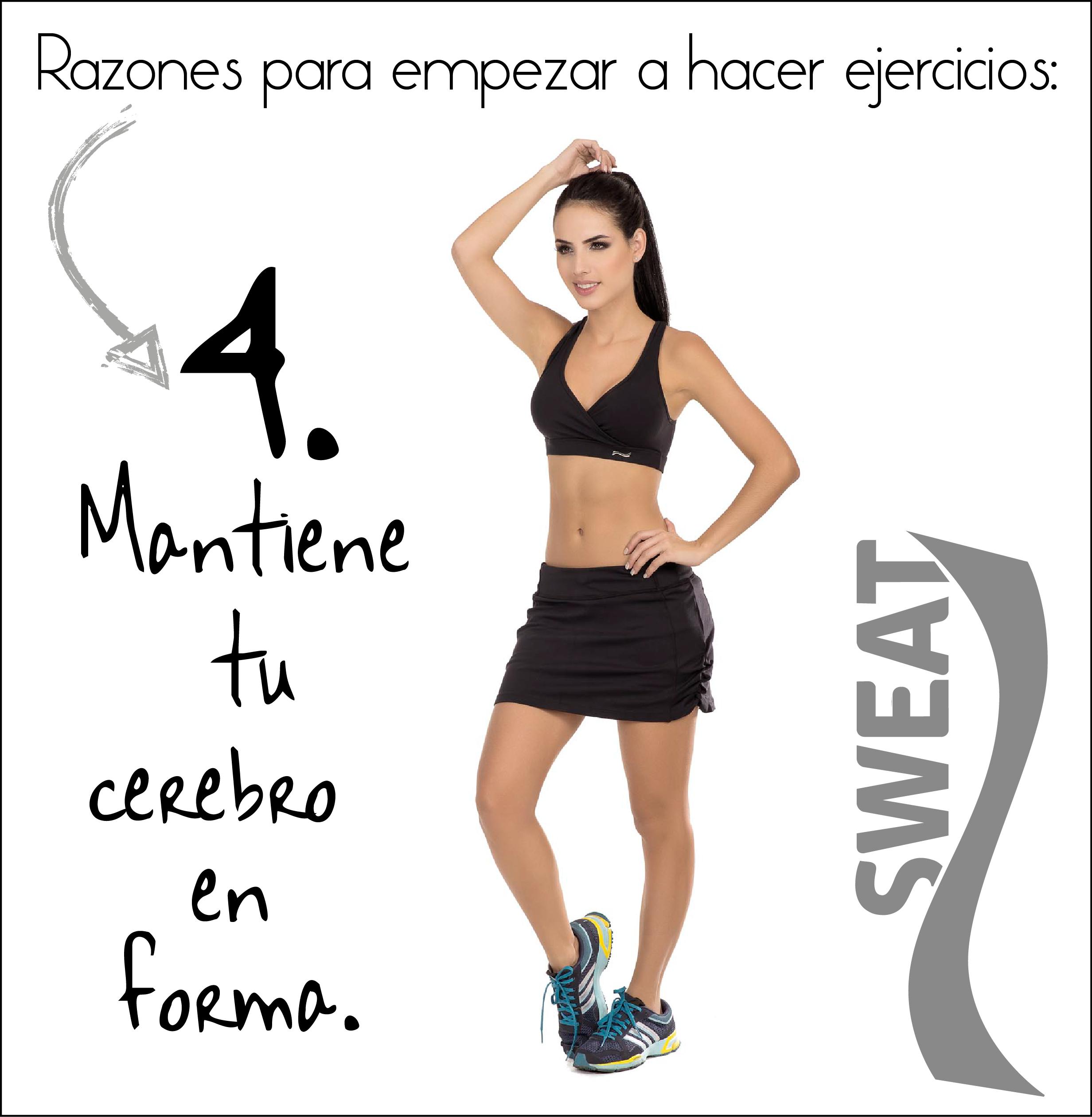 Beneficios de hacer ejercicio.
