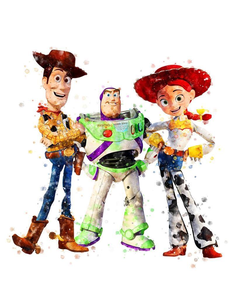 Toy Story Prints Woody Jessie Buzz Lightyear Printable Toy Story