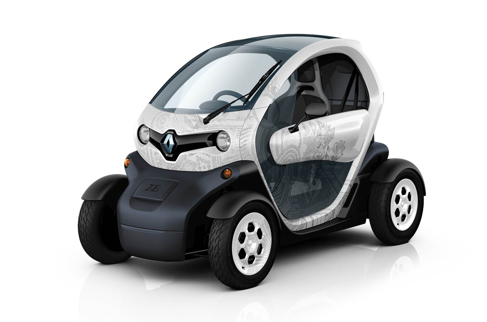 French Manufacturer Renault Has Unveiled A New Electric Car That Makes It Blend Urban Electric Vehicle And The Technology Used Electric Cars Renault Cute Cars