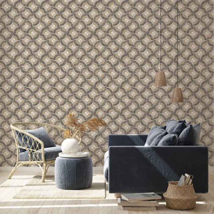 Grasscloth Fans Grasscloth Removable Wallpaper Decor