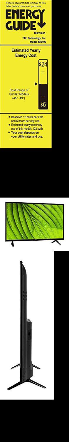 Tcl Flat Screen  TCL 49D100 49-Inch 1080 LED TV (2017 Model)  #tcl