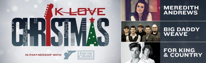 Klove Christmas Tour.K Love Christmas Tour Abba Christmas Kansas City Kinds