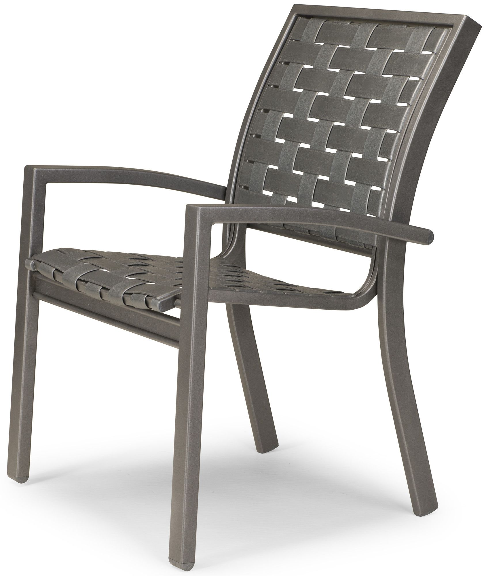 kendall contract cross strap stacking dining arm chair set of 4 rh in pinterest com