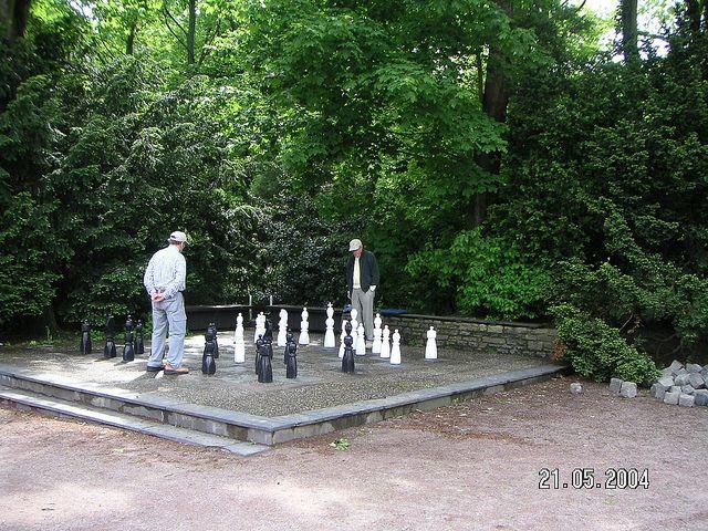 Visit of Königstein im Taunus, Germany - chess game by Nouhailler, via Flickr