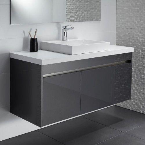 Lazaro Alumino Vanity Vanity Small Bathroom Basin