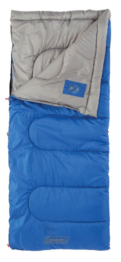 Coleman Boyce 50 Degree Rectangular Sleeping Bag Stay Comfortable Down To F Fits Up 5 Ft 11 180 34 Cm Roll Controltm Keeps Your Straight