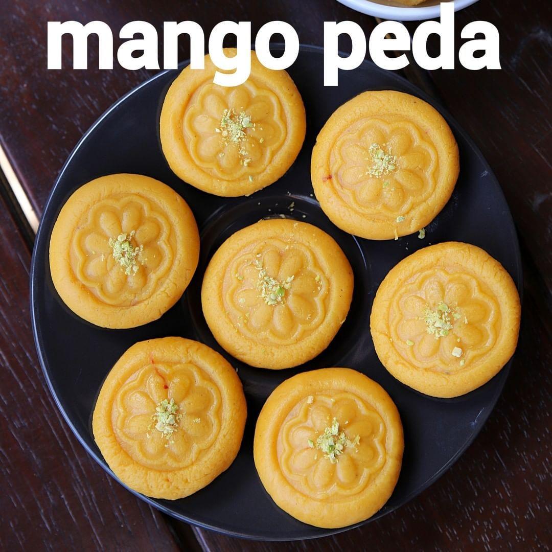 Hebbar S Kitchen On Instagram Mango Peda Recipe Aam Peda