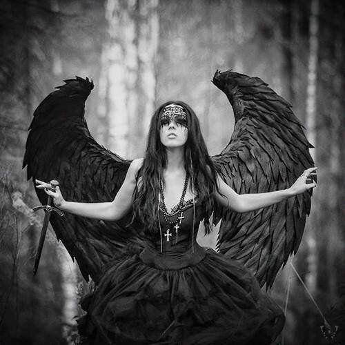 Die Internet Community Schwarze Engel Dunkler Engel Kostum Dunkle Schonheit