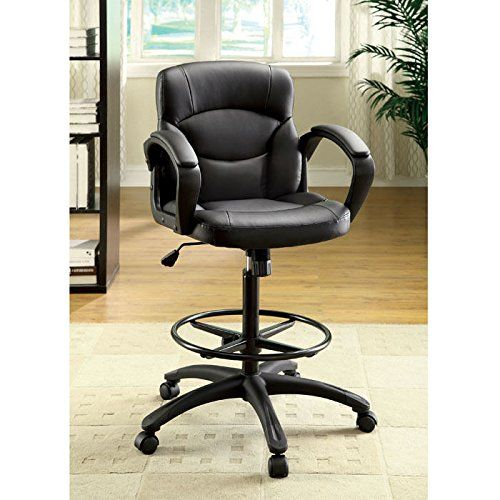 Devlin Drafting Style Leatherette Adjustable Office Chair Https Www Amazon Com Dp B00cldp090 Ref Cm Sw R Pi Dp U X Yeunabs6wr586 Adjustable Office Chair