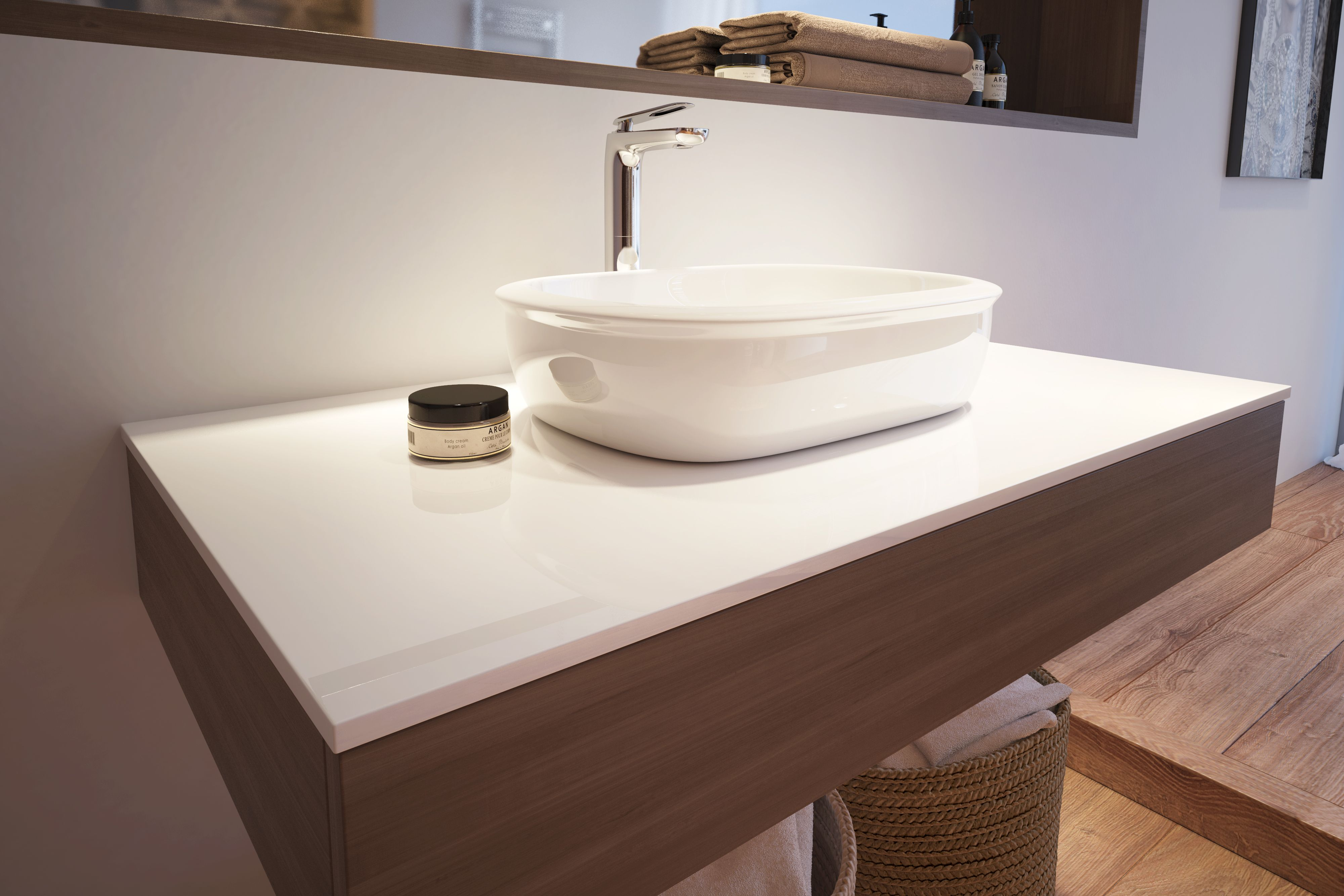 4 Secrets to a luxurious bathroom look