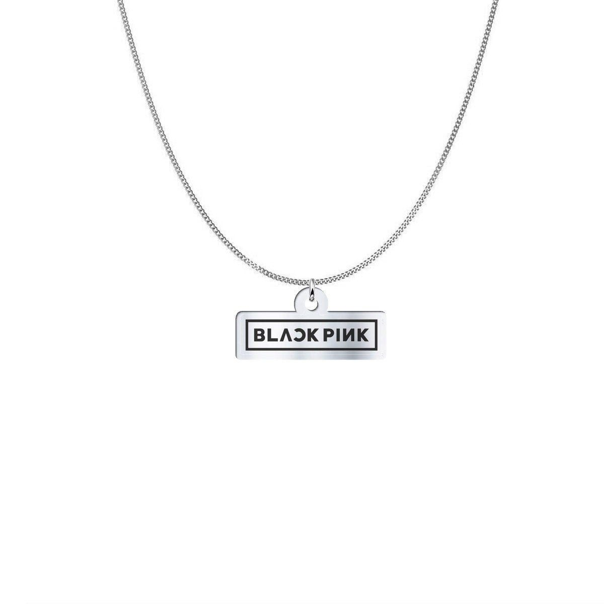 Blackpink Necklace 925 Sterling Silver Silver Plated Etsy In 2020 Solid Silver Necklace 925 Sterling Silver Girly Jewelry