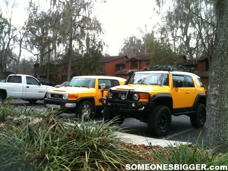 stock fj vs lifted fj cruiser2 | first things first | pinterest