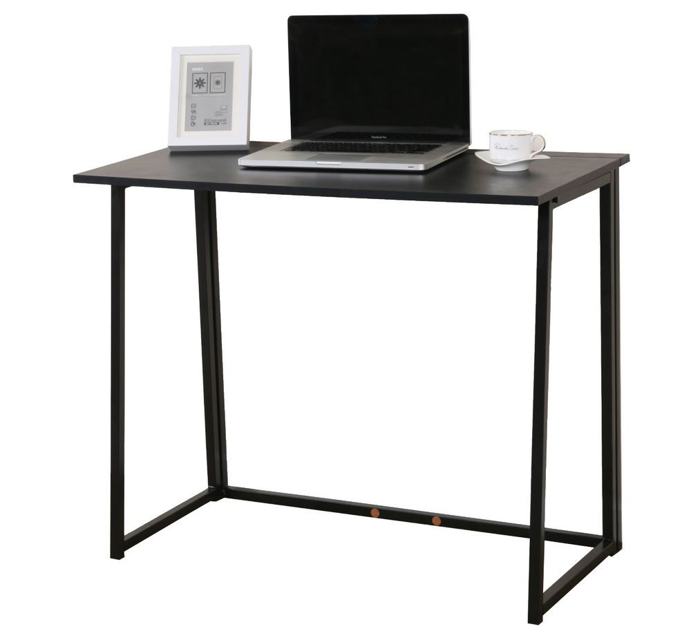 fold away office desk. CherryTree Furniture Compact Flip-Flop Folding Computer Office Desk Laptop Table Fold Away E