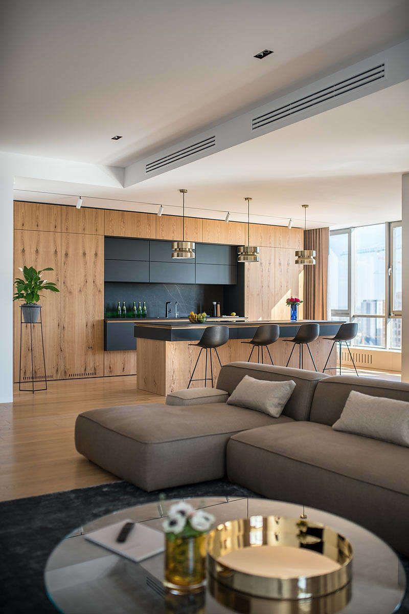 river stone apartment by zooi design kitchens in 2018 pinterest rh in pinterest com