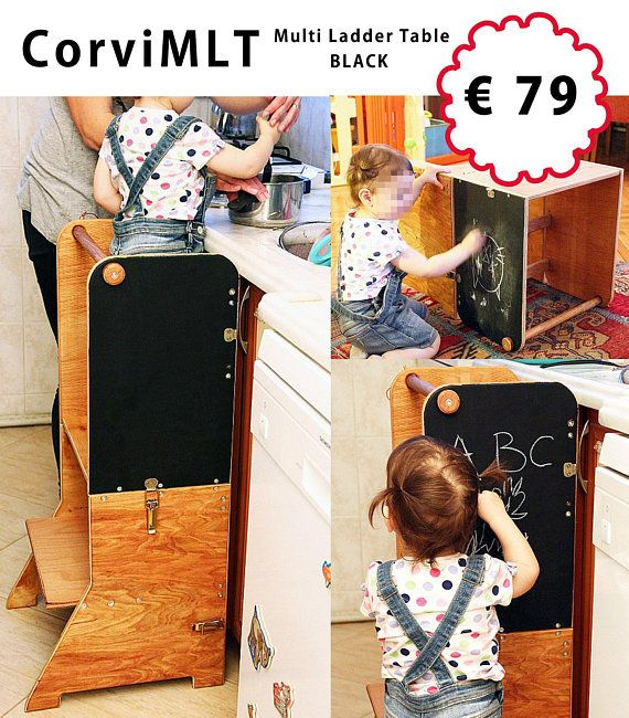 learning tower for the kitchen and childrens table together rh in pinterest com