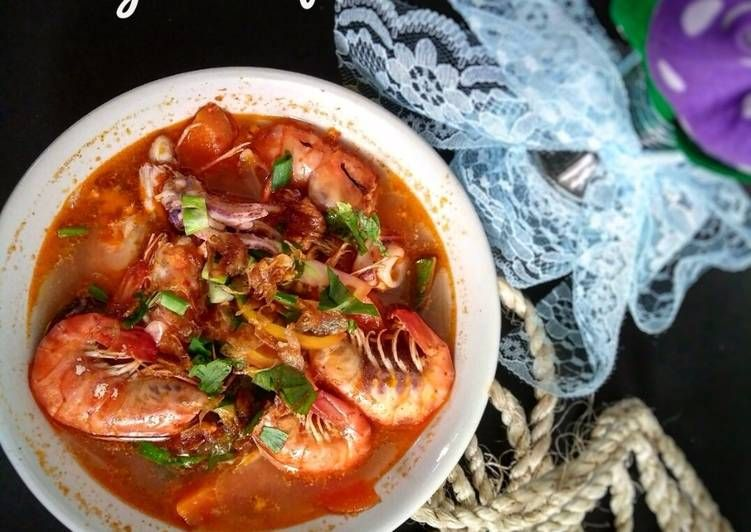 Resep Tomyam Seafood Spicy Oleh Dianawy Resep Makanan Makanan Laut Resep