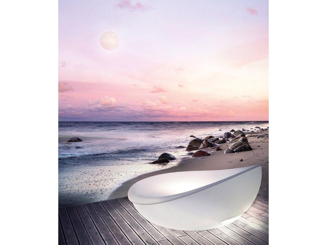 Solpuri Outdoor Möbel // Lagoon Daybed Strand Muschel Lounge Liege Genießen