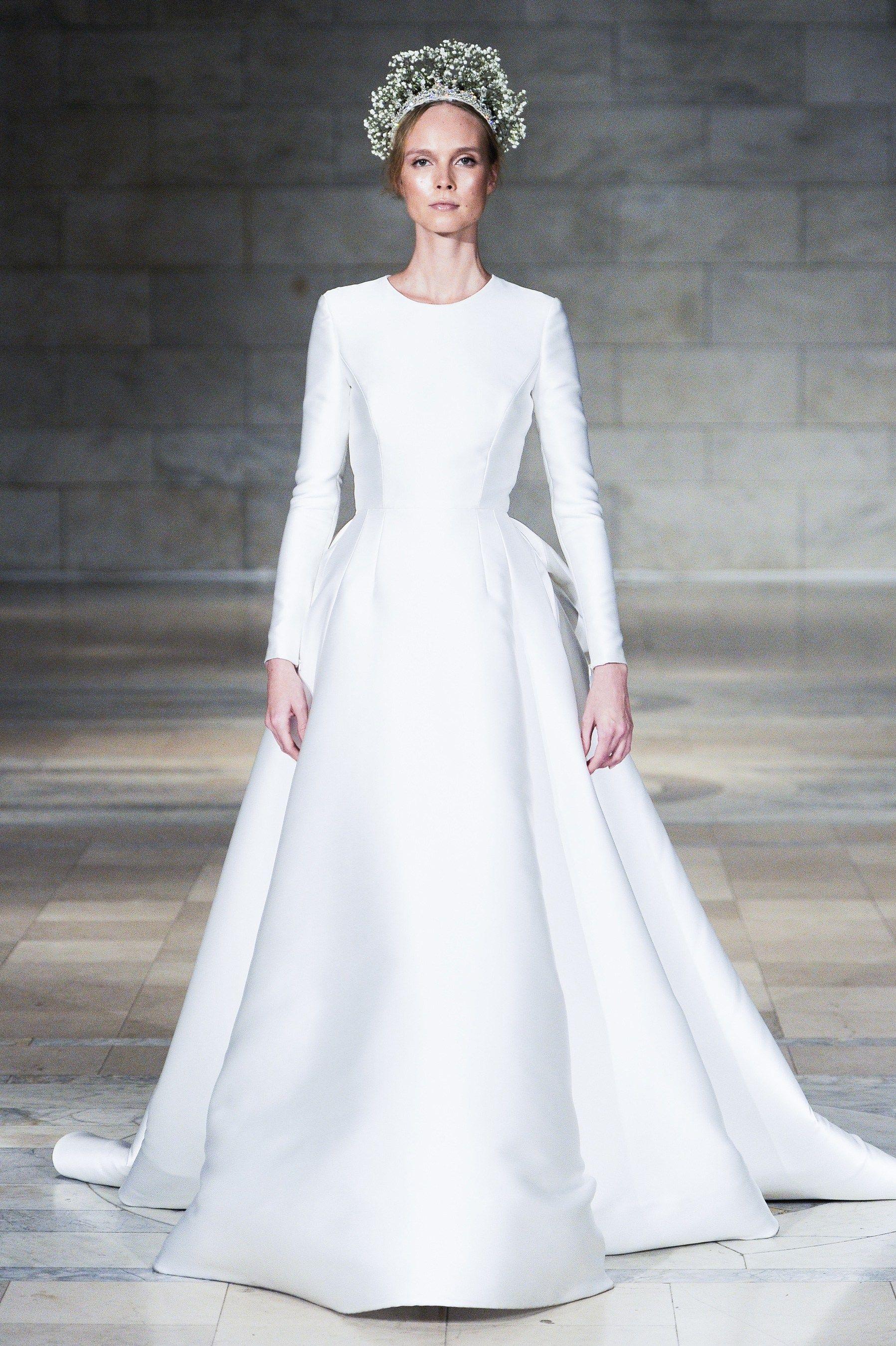 Reem Acra Fall 2018 Bridal Fashion Show