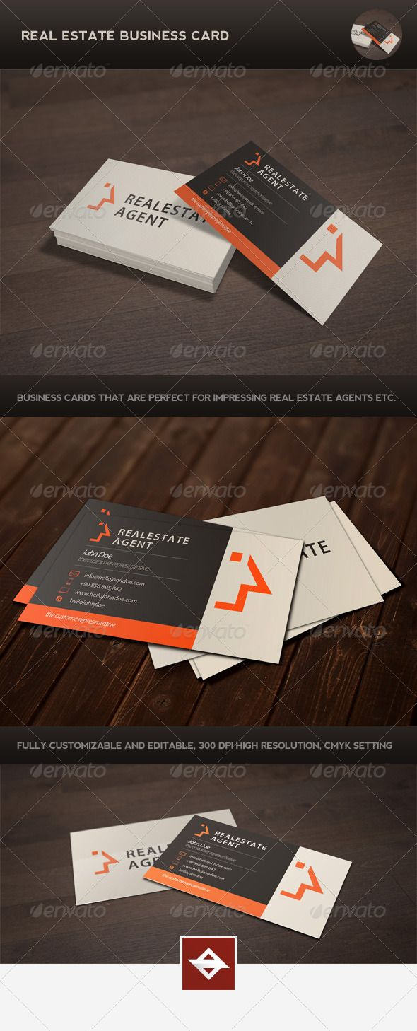 Real Estate Template%0A Real Estate Business Card