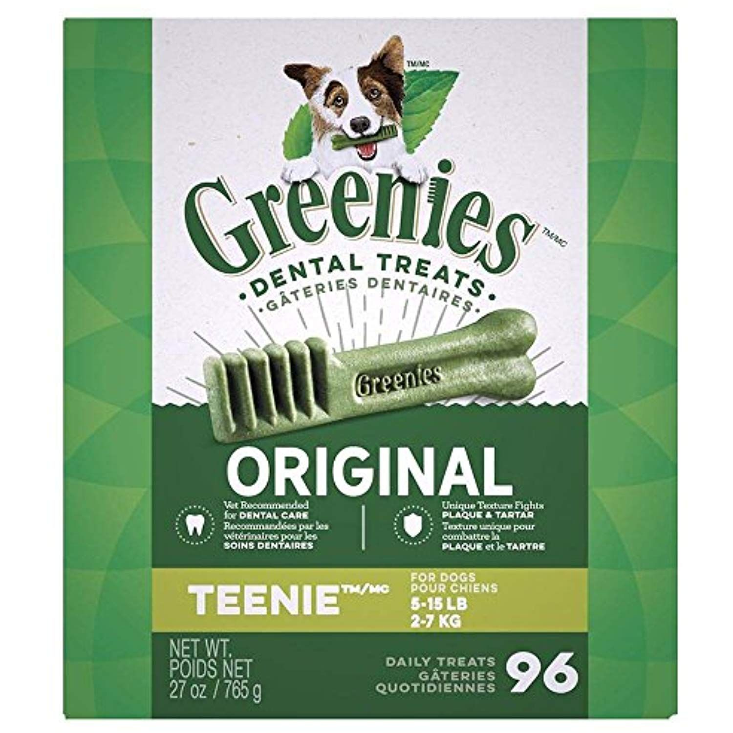 Greenies Monster Pak 27oz Canister Teenie For Dogs Under 15lbs Be Sure To Check Out This Awesome Product This Is A Dog Dental Greenies