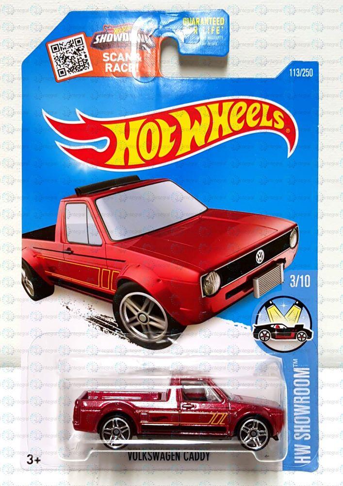 new 2016 hot wheels hw showroom volkswagen caddy 3 vw red. Black Bedroom Furniture Sets. Home Design Ideas