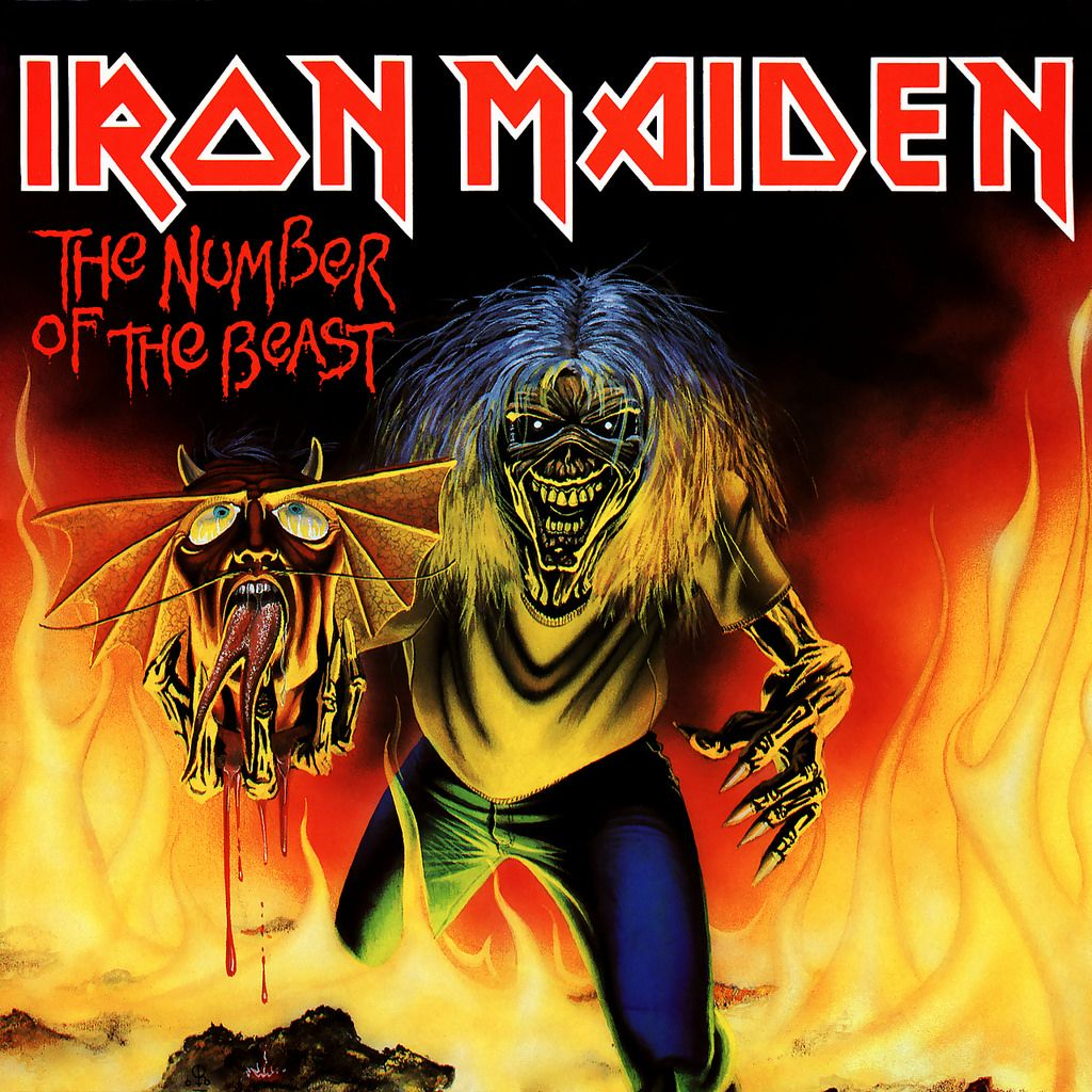 Iron Maiden Album Covers By Derek Riggs With Images Iron