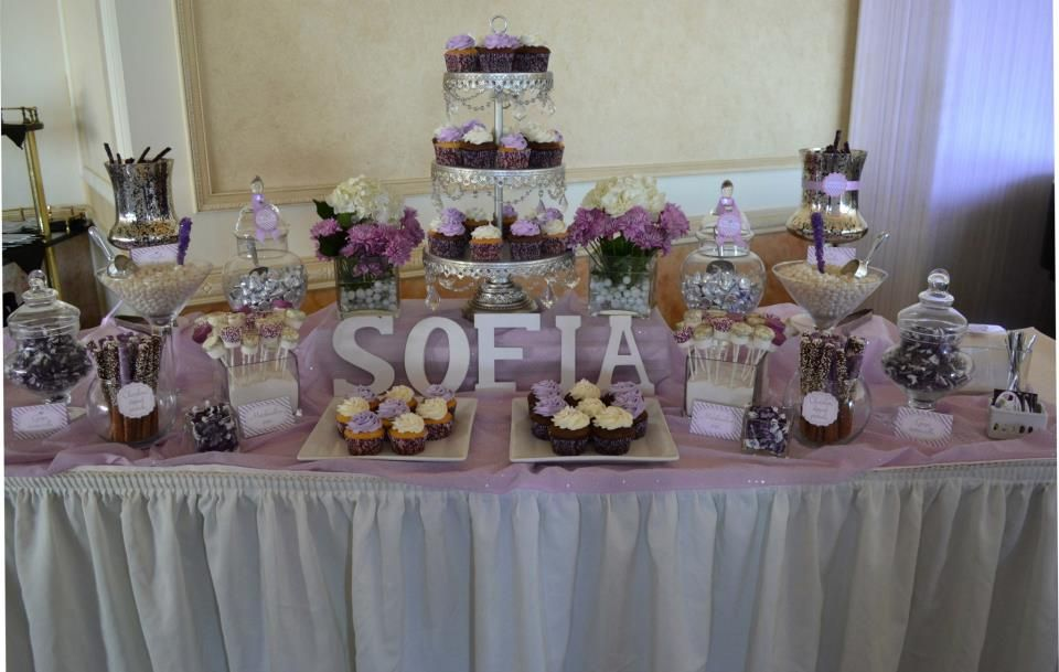 Candy Table Decoration First Communion