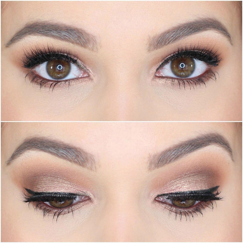 Jaclyn Hill Morphe Palette Looks on Brown Eyes Natural