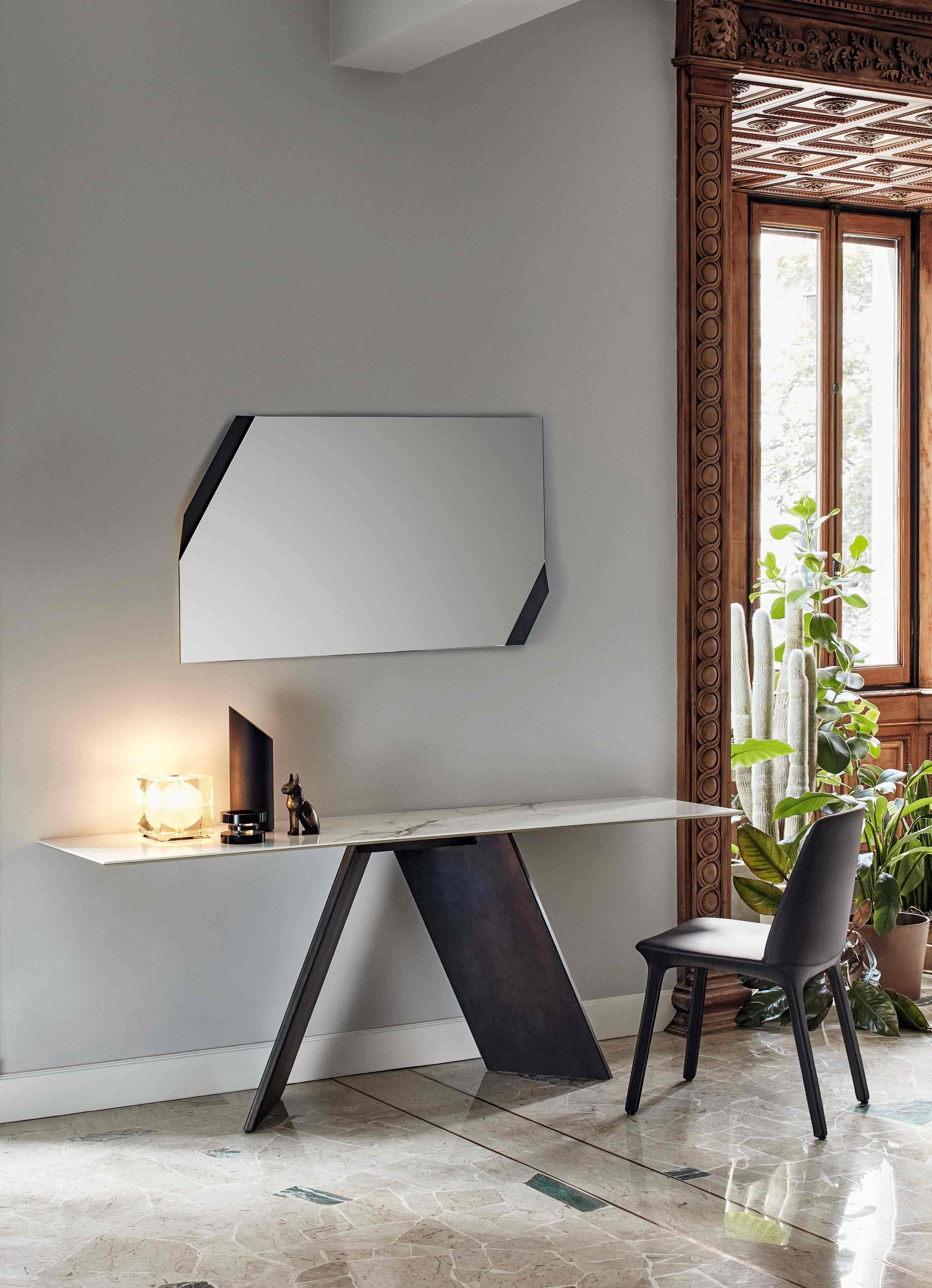 AX Console U0026 Mirror By Bonaldo, Gino Carollo Design. Polish Agent Of Bonaldo:  Www.alicjabarcicka.pl #interiordesign #italiandesign #bonaldo #furniture