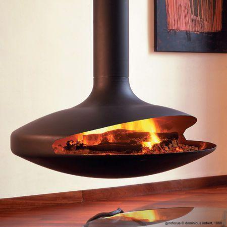 Le plus bel objet design du monde ? Le voilà ! La #cheminée ...