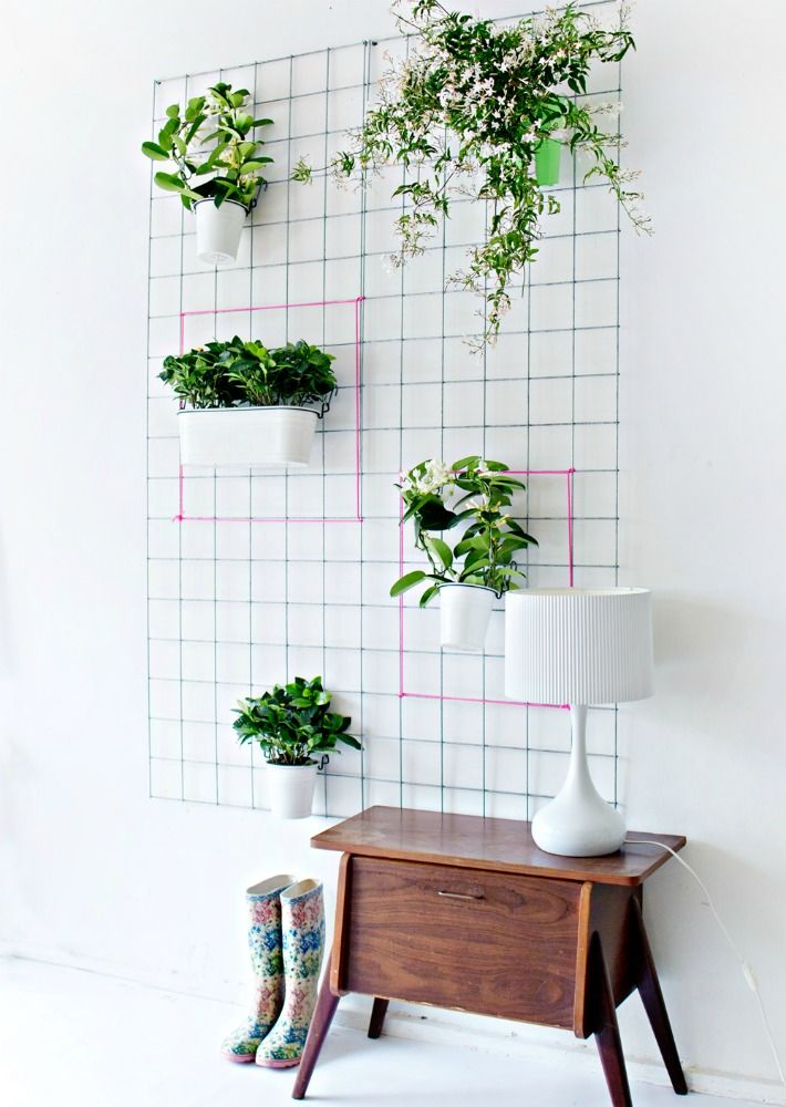 Diy jardin vertical para interior decoraci n en 2019 - Jardines en vertical ...