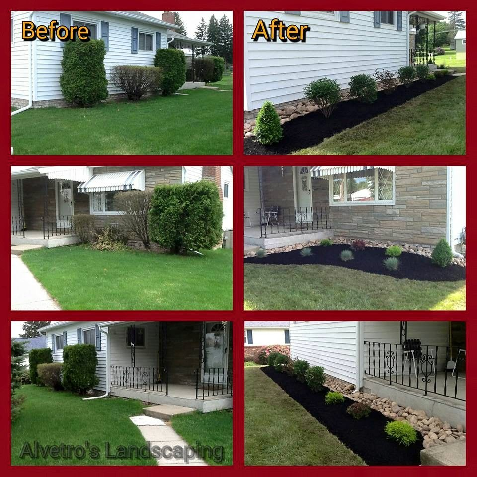 Pin By Alvetro S Landscaping Garden On Before And After