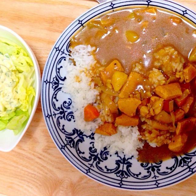 ゴールデンカレーのバリ辛を使用。辛ウマー♪ - 16件のもぐもぐ - 卵サラダとカレ〜✧* by Maki