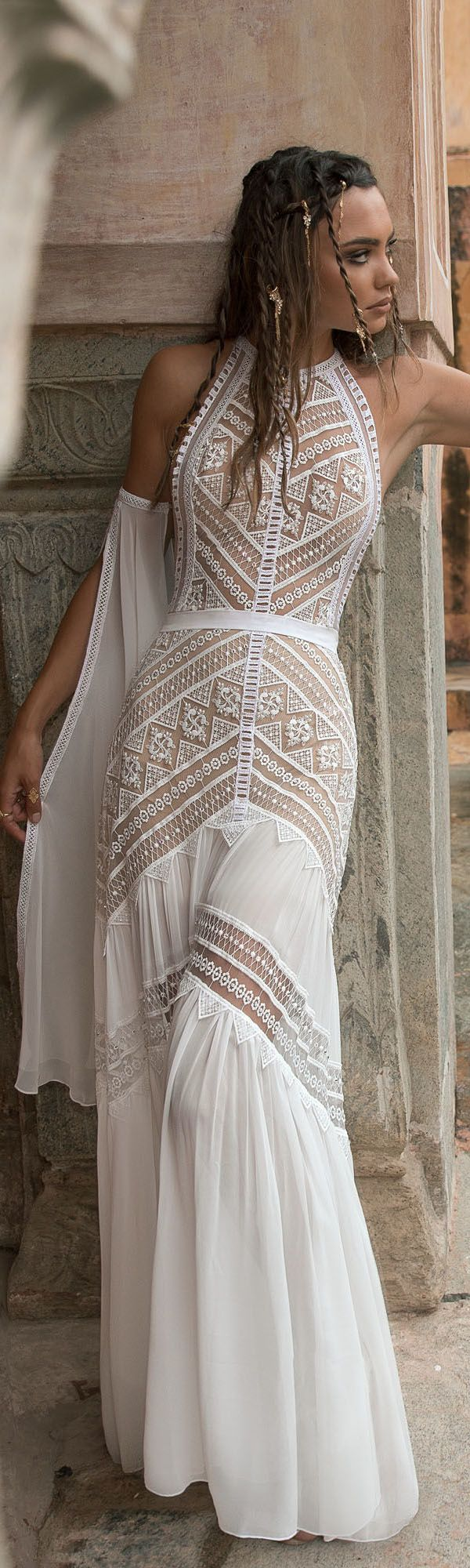 bohemian wedding dress from carchy roben4rp pinterest hochzeitskleid kleider and bohemian. Black Bedroom Furniture Sets. Home Design Ideas