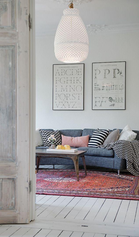 Fonkelnieuw Perzisch tapijt   Interieur woonkamer, Ideeën voor thuisdecoratie QT-32
