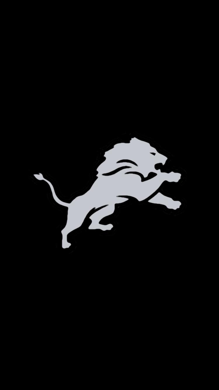 Minimalistic Nfl Backgrounds Nfc North Detroit Lions Wallpaper Nfl Detroit Lions Detroit Sports