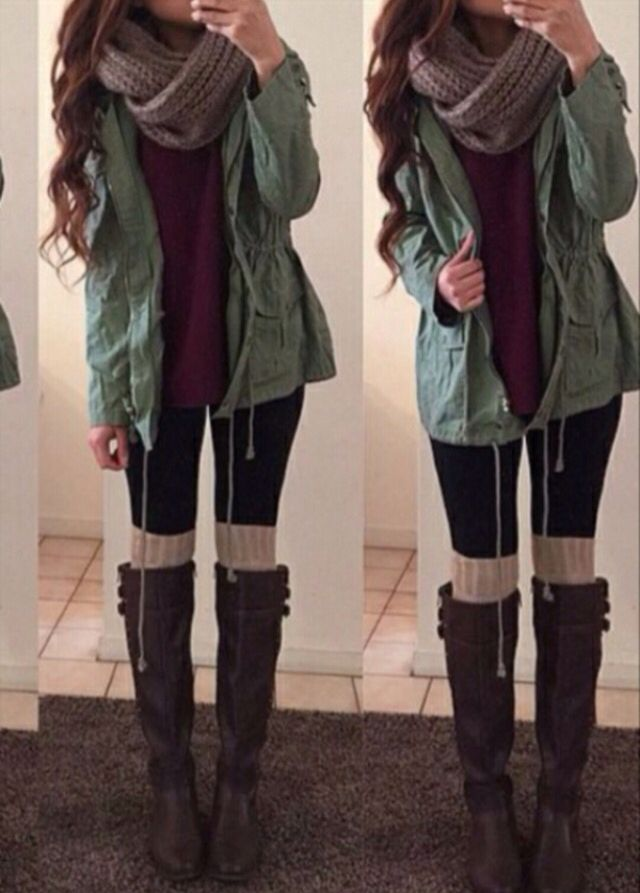 Winter ready Winter Outfits For School 7cea54b8a55