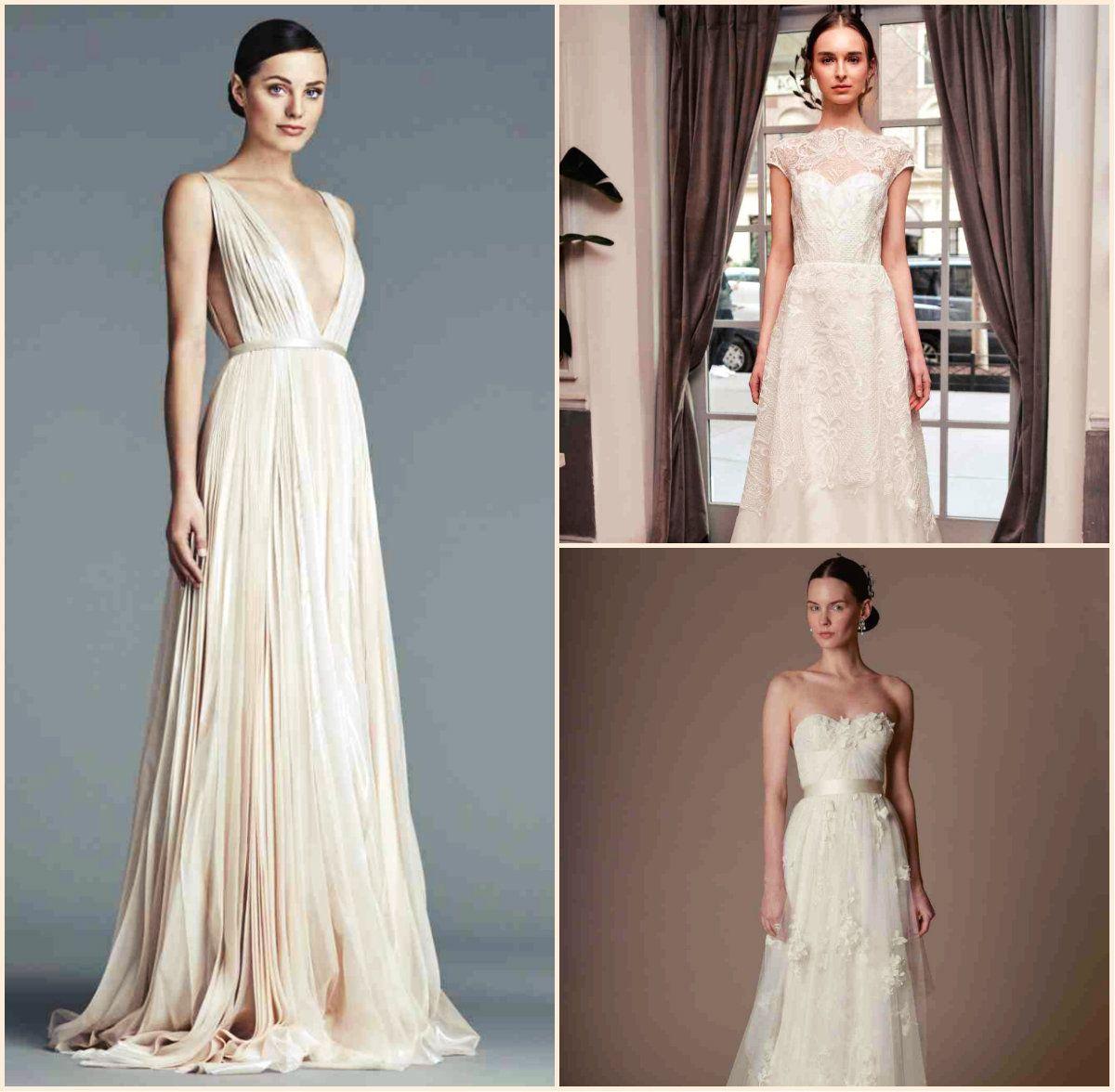 Pistas: la primavera de 2016 peinados y vestidos de novia   Vestidos ...