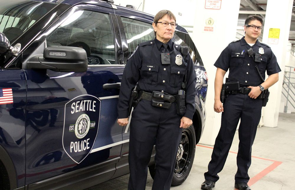 New Logo For Seattle Police Department By Dei Creative