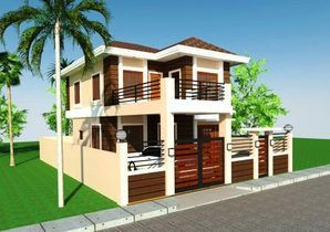 Model donita 192 sq m floor area ideal for 150 square for 300 sqm house design philippines