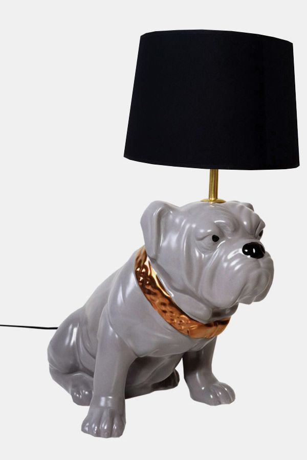 This Bulldog Lamp From Abigail Ahern Is Just So Good Available