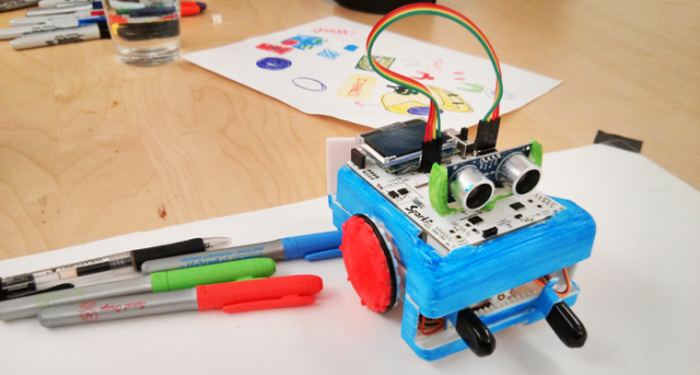 An Arduinobased robot for people who don't know how to