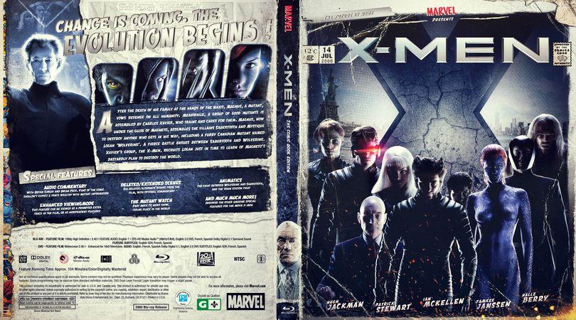 Comic Book Blu Ray Collection X Men Efx Coverart Gallery X Men Cover Comic Books