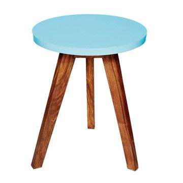 Moore Side Table Blue