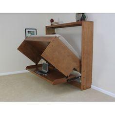 Wallbeds Modern Birch Murphy Bed & Reviews | Wayfair