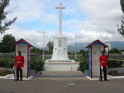 National Heroes Park, In Kingston Jamaica